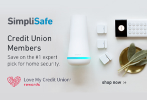 Credit Union Members save on the #1 expert pick for home security