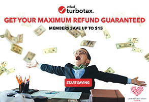Save up to 15 dollars and get your maximum tax refund with intuit turbotax